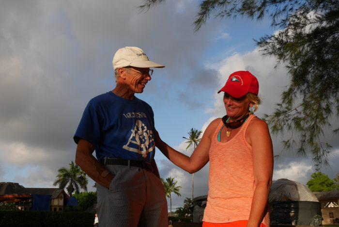 Margie meets David King