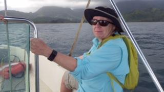 Susan on Sea Squirrel